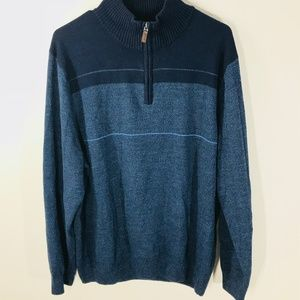 Dockers Sweaters - Dockers Men's Size XL 1/4 Zip Pullover Sweater
